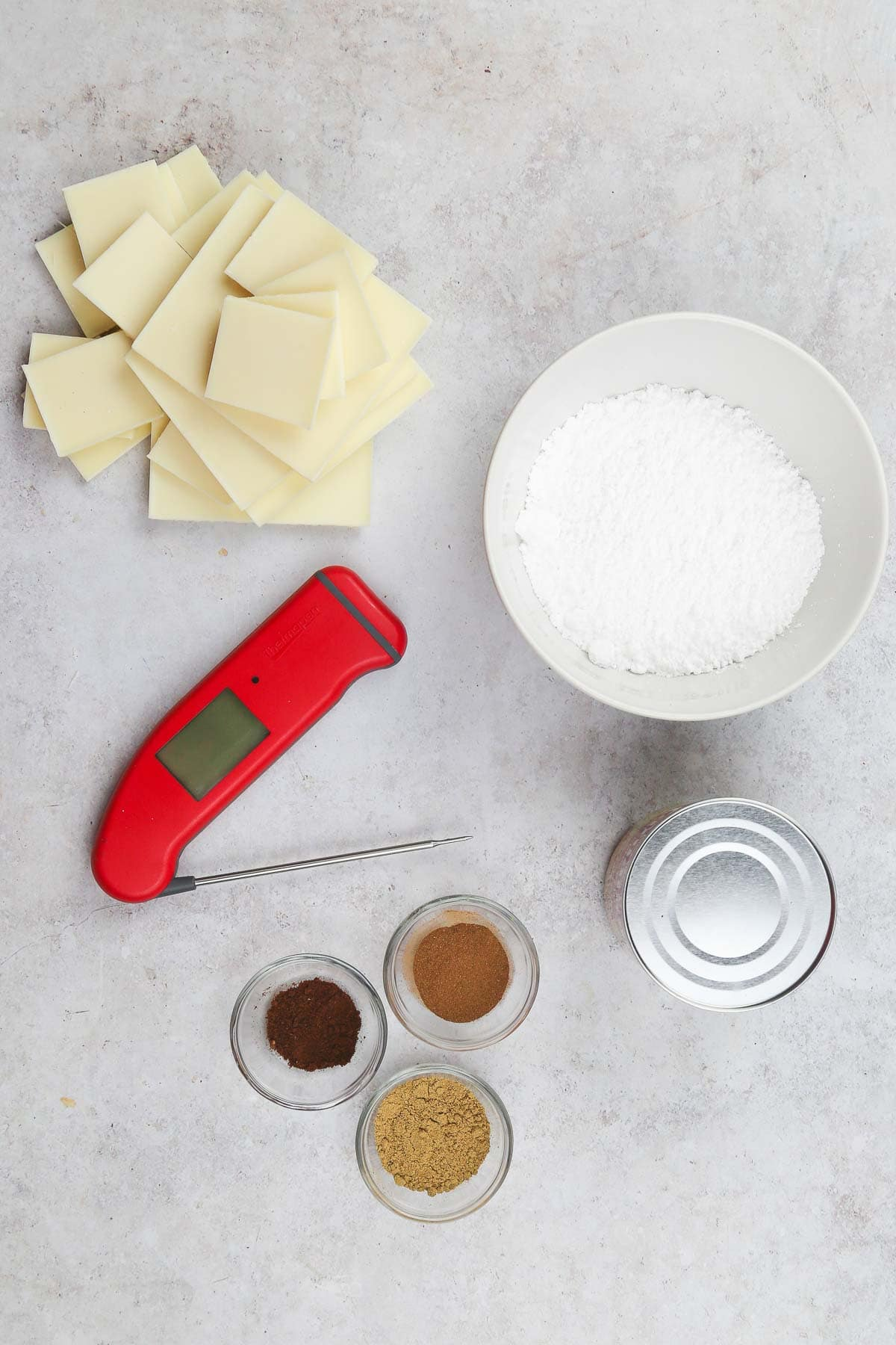 gingerbread fudge ingredients
