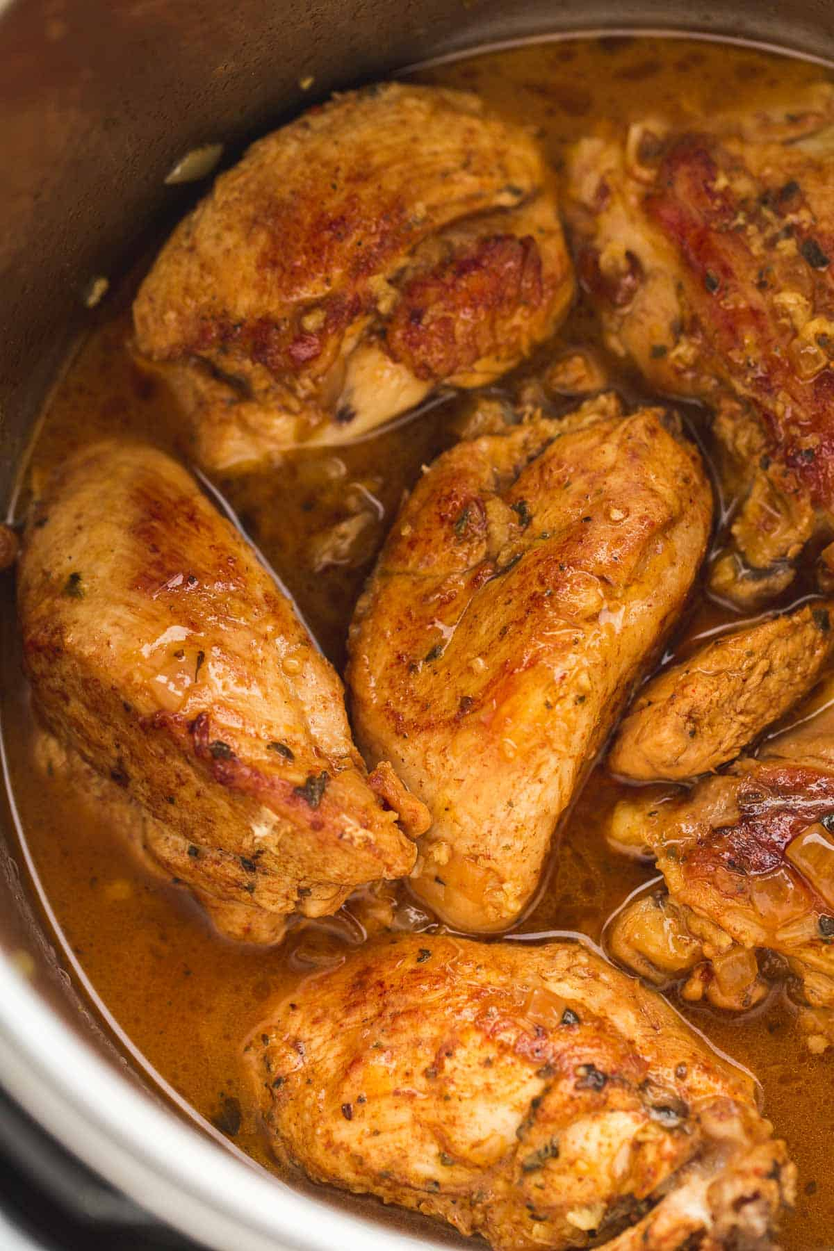 Chicken breasts put in instant pot