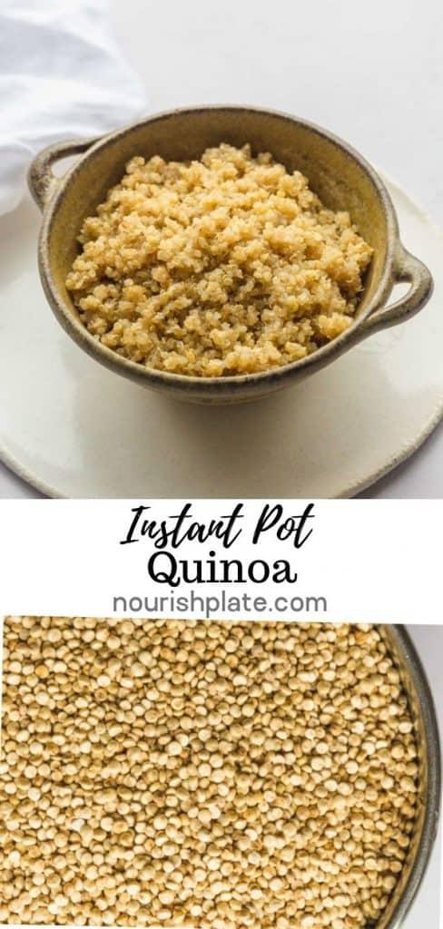 Instant Pot Quinoa Pin