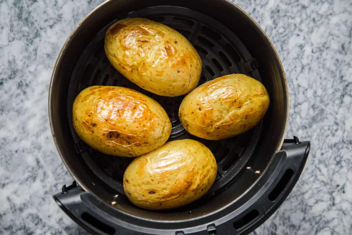 Baked potatoes in Air Fryer