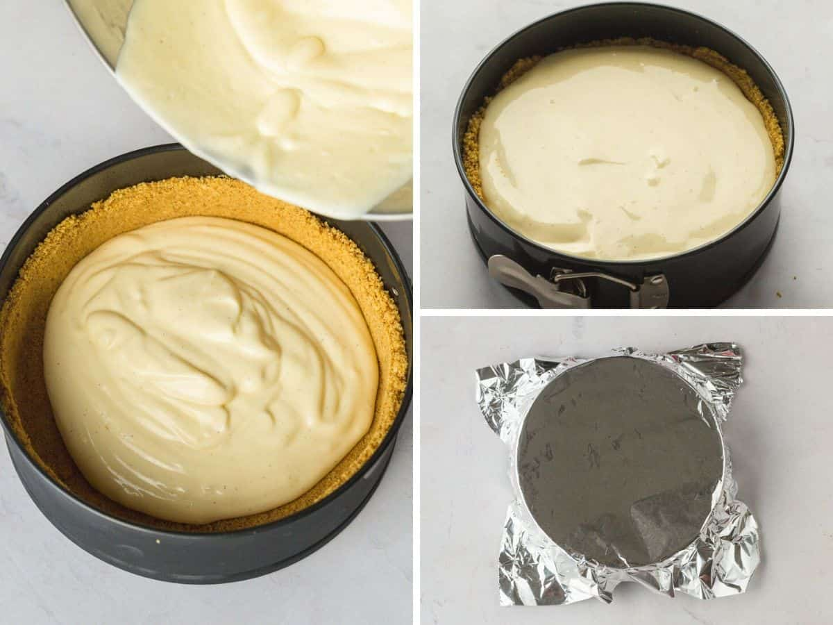 Making cheesecake in Instant Pot