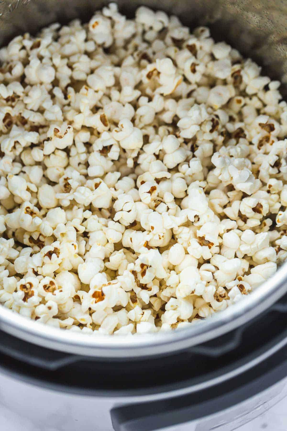 Making popcorn in Instant Pot