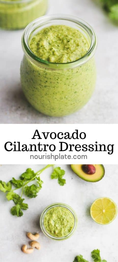 Avocado Cilantro Dressing Pin-3