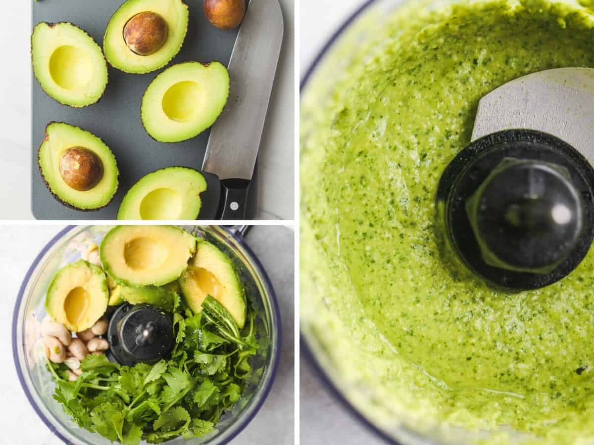 Steps to make Avocado Cilantro Dressing