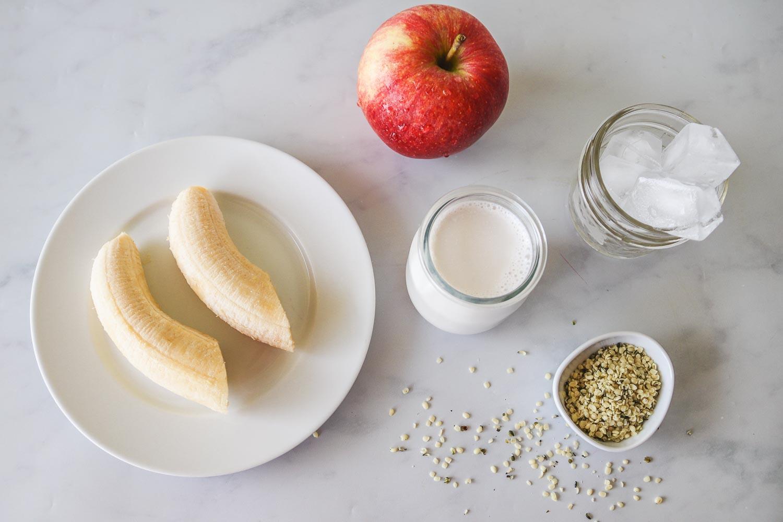 Apple Banana Smoothie Ingredients